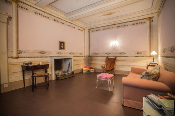 The pink little drawing room